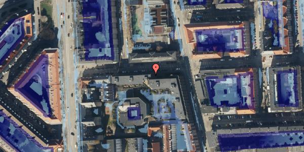 Ekstrem regn på Vordingborggade 6F, 2. 21, 2100 København Ø