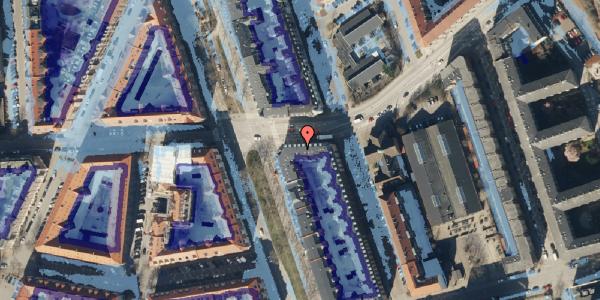 Ekstrem regn på Vordingborggade 80, st. th, 2100 København Ø
