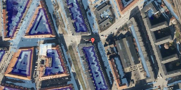 Ekstrem regn på Vordingborggade 82, 2. tv, 2100 København Ø