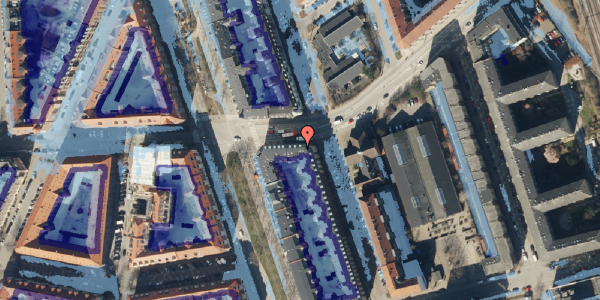 Ekstrem regn på Vordingborggade 82, 5. th, 2100 København Ø