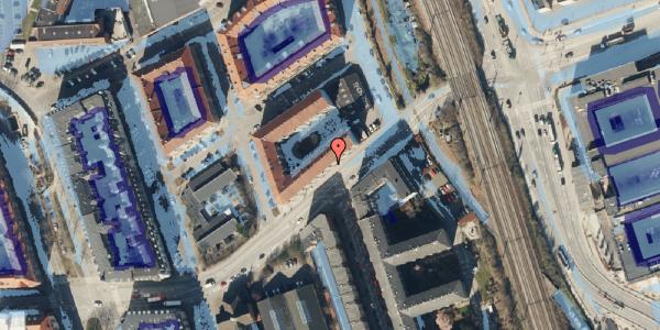 Ekstrem regn på Vordingborggade 93, 2. th, 2100 København Ø