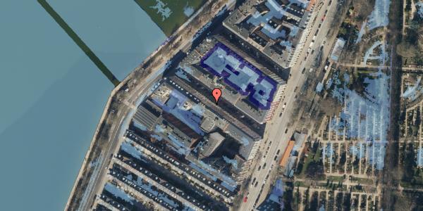 Ekstrem regn på Zinnsgade 7, 5. tv, 2100 København Ø