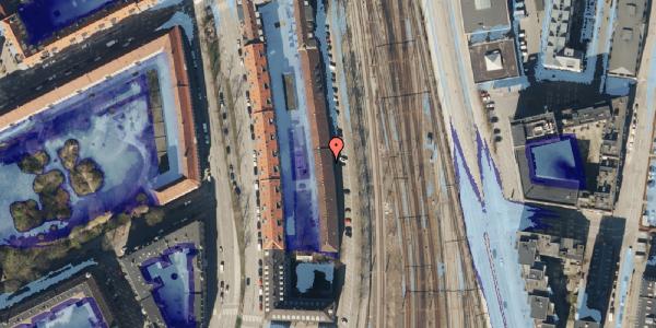 Ekstrem regn på Østbanegade 37, 2. 4, 2100 København Ø