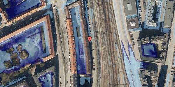 Ekstrem regn på Østbanegade 39, kl. , 2100 København Ø