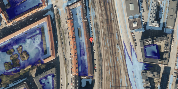 Ekstrem regn på Østbanegade 39, st. 1, 2100 København Ø