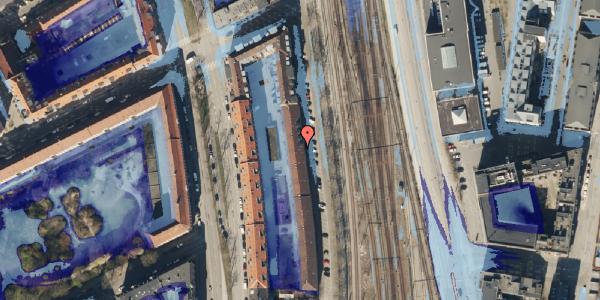 Ekstrem regn på Østbanegade 41, st. 3, 2100 København Ø