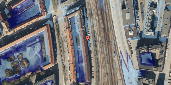 Ekstrem regn på Østbanegade 41, 2. 3, 2100 København Ø