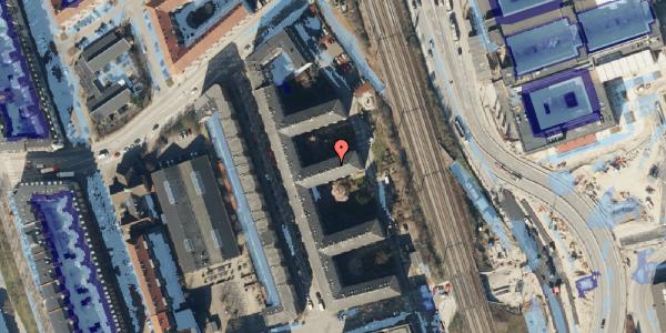 Ekstrem regn på Østbanegade 153, 2. th, 2100 København Ø