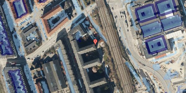 Ekstrem regn på Østbanegade 157, 4. tv, 2100 København Ø