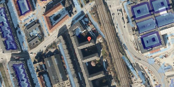 Ekstrem regn på Østbanegade 159, 3. th, 2100 København Ø