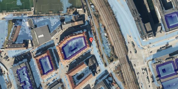 Ekstrem regn på Østbanegade 175, 3. tv, 2100 København Ø
