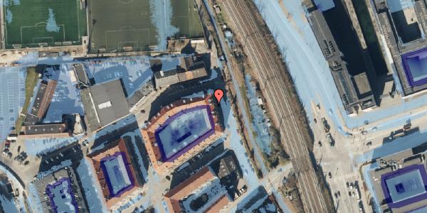 Ekstrem regn på Østbanegade 177, 2. tv, 2100 København Ø