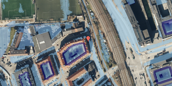 Ekstrem regn på Østbanegade 177, 3. tv, 2100 København Ø