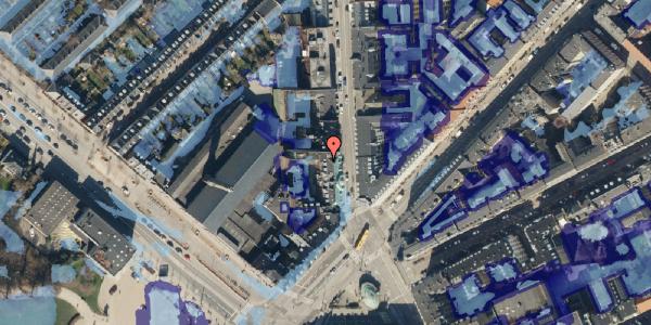 Ekstrem regn på Østerbrogade 35, 3. th, 2100 København Ø