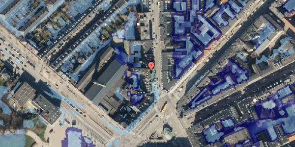 Ekstrem regn på Østerbrogade 35, 4. th, 2100 København Ø