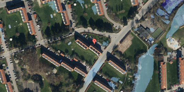 Ekstrem regn på Arnold Nielsens Boulevard 14, 3. tv, 2650 Hvidovre