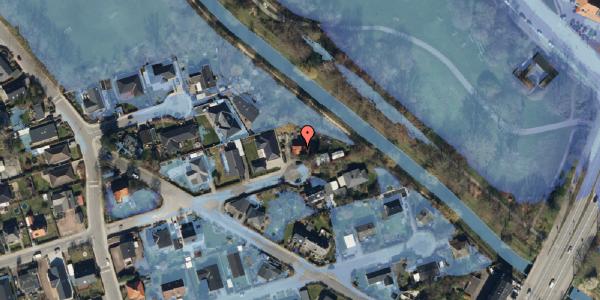 Ekstrem regn på Asminderødvej 14, 2650 Hvidovre