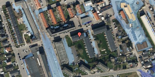 Ekstrem regn på Baunebakkevej 143, 2650 Hvidovre