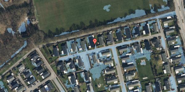 Ekstrem regn på Løkketoften 51, 2625 Vallensbæk