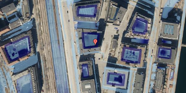 Ekstrem regn på Amerika Plads 23, 11. mf, 2100 København Ø