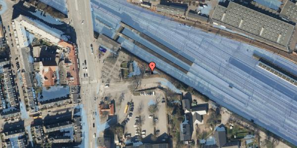 Ekstrem regn på Ved Sporsløjfen 3, 2100 København Ø