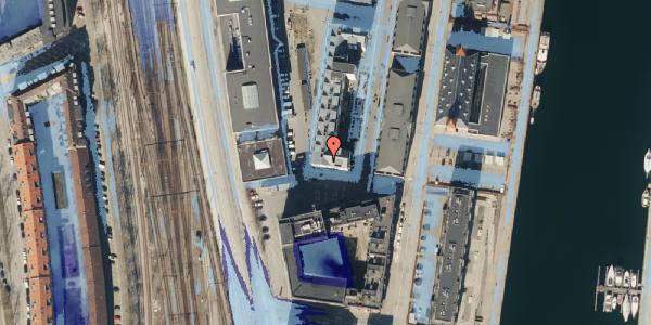Ekstrem regn på Amerika Plads 4, 6. 1, 2100 København Ø