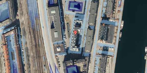 Ekstrem regn på Amerika Plads 6A, st. , 2100 København Ø