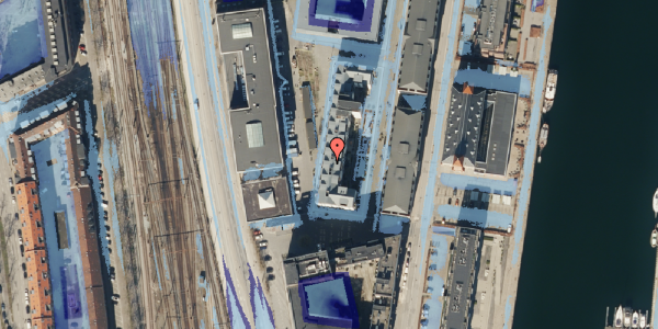 Ekstrem regn på Amerika Plads 6, 5. tv, 2100 København Ø