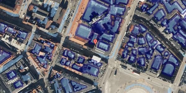 Ekstrem regn på Gothersgade 8A, 4. , 1123 København K