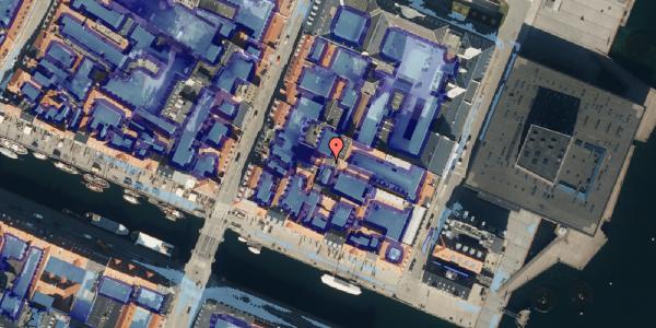 Ekstrem regn på Nyhavn 57C, 1051 København K