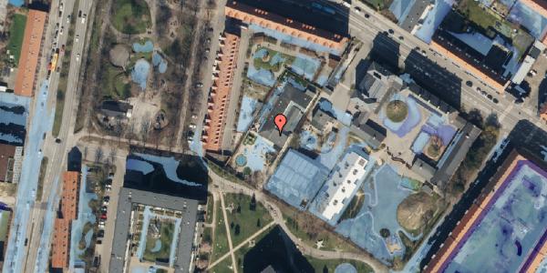 Ekstrem regn på Hulgårds Plads 15, 2400 København NV
