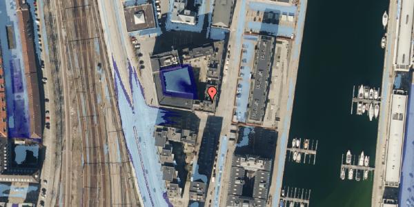 Ekstrem regn på Amerika Plads 3D, 3. mf, 2100 København Ø