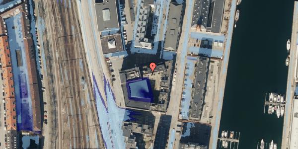 Ekstrem regn på Amerika Plads 3E, 4. th, 2100 København Ø