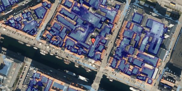 Ekstrem regn på Nyhavn 43A, 1. tv, 1051 København K