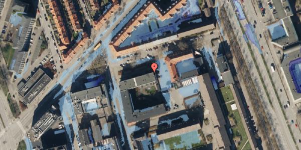 Ekstrem regn på Ragnagade 9, 2. 1, 2100 København Ø