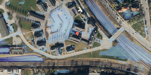 Ekstrem regn på Svanemøllens Kaserne 10, 2100 København Ø