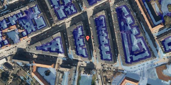 Ekstrem regn på Lipkesgade 5A, kl. 20, 2100 København Ø