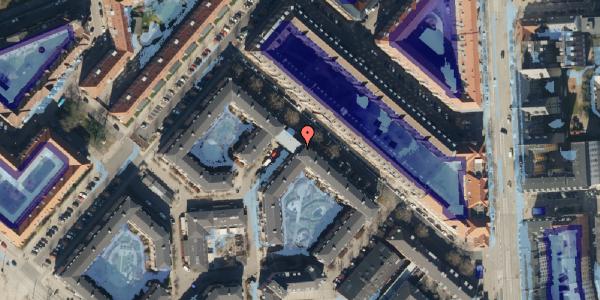 Ekstrem regn på Marskensgade 25A, st. , 2100 København Ø