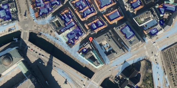 Ekstrem regn på Boldhusgade 1, 1062 København K