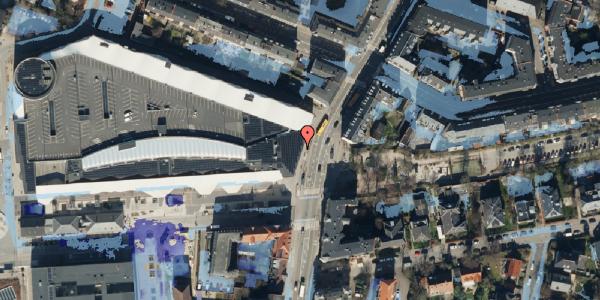 Ekstrem regn på Falkoner Alle 21, 2. 2015, 2000 Frederiksberg