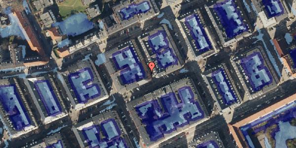 Ekstrem regn på Willemoesgade 55, 1. , 2100 København Ø