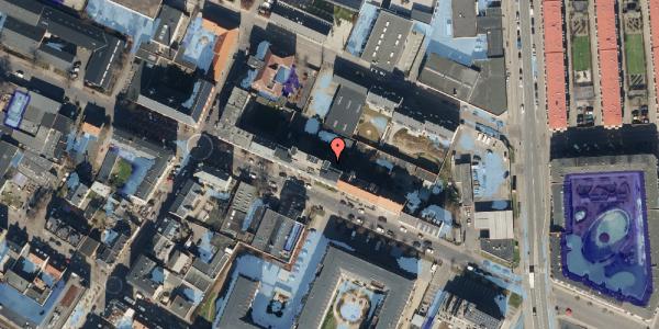 Ekstrem regn på Rentemestervej 40B, 1. 3, 2400 København NV