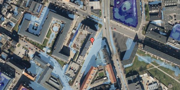 Ekstrem regn på Glasvej 29, 2. th, 2400 København NV