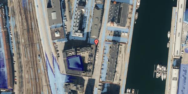 Ekstrem regn på Amerika Plads 1, 8. , 2100 København Ø