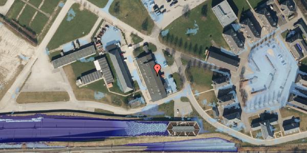 Ekstrem regn på Svanemøllens Kaserne 91, 2100 København Ø