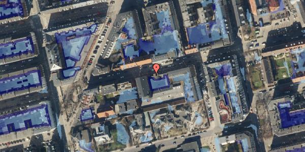 Ekstrem regn på Viborggade 70, 2. , 2100 København Ø