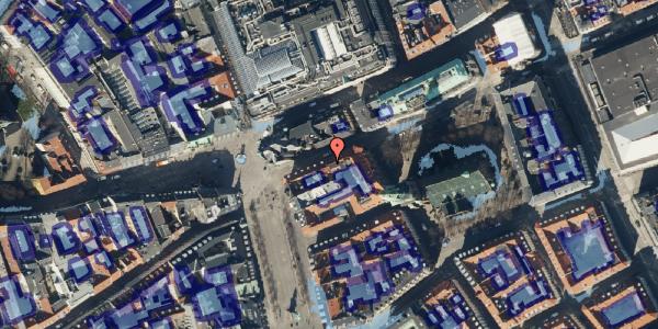 Ekstrem regn på Store Kirkestræde 1B, 4. mf, 1073 København K