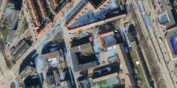 Ekstrem regn på Ragnagade 9, 2. 3, 2100 København Ø