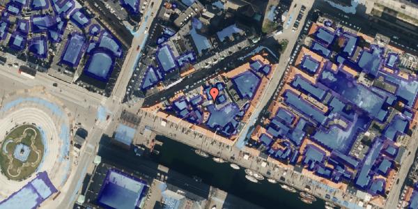 Ekstrem regn på Nyhavn 11B, 2. 3, 1051 København K