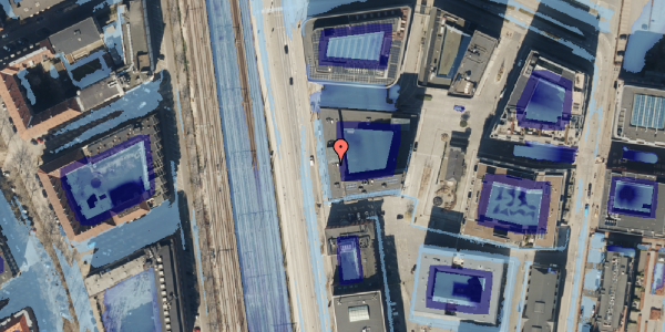 Ekstrem regn på Kalkbrænderihavnsgade 4B, 2. tv, 2100 København Ø
